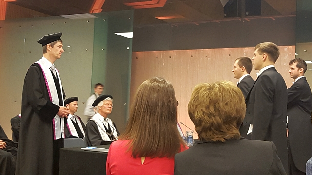 Congratulations, Doctor Penkin!