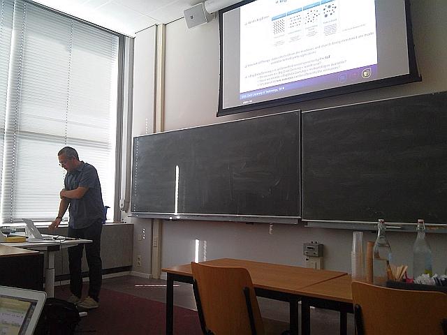 Presentation of Gabriel Vasile