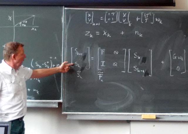 Explanations on blackboard