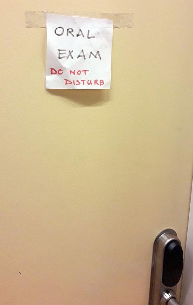 Do not disturb!..