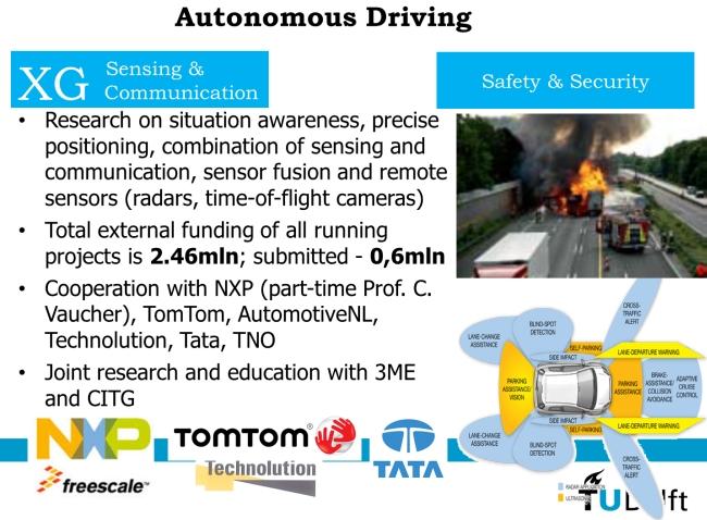 Seminar Autonomous driving (extended XG seminar)